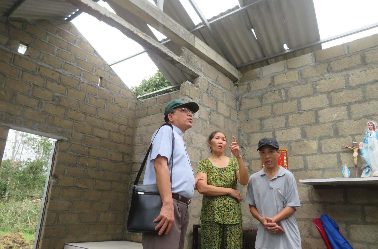 Caritas Huế: Hỗ Trợ Khắc Phục Khó Khăn Sau Bão Số 5 (Noul)