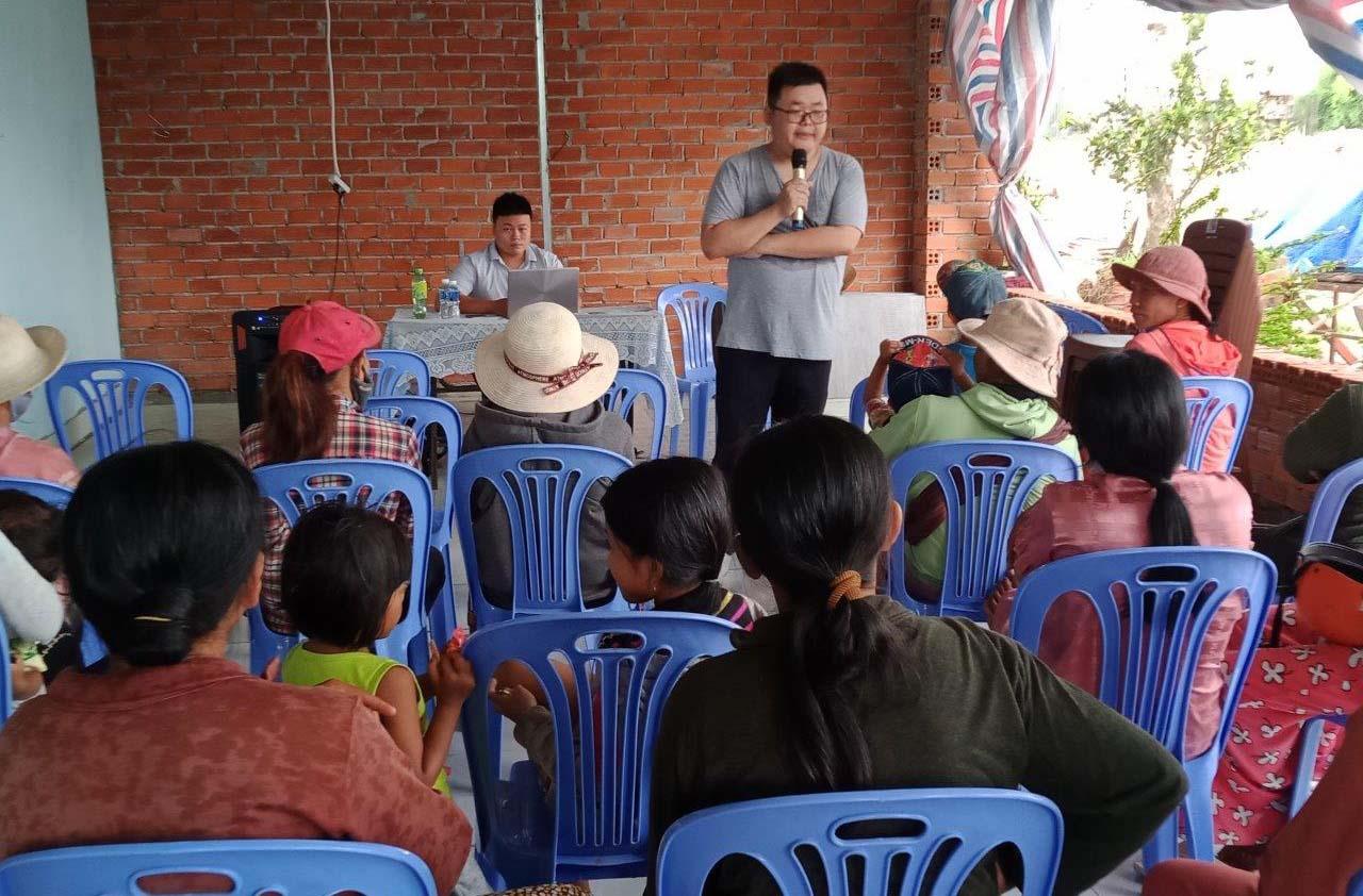 Caritas Phan Thiết: Tập Huấn Chăm Sóc Sức Khỏe Bà Mẹ Và Trẻ Em Cho Người Dân Đồng Bào