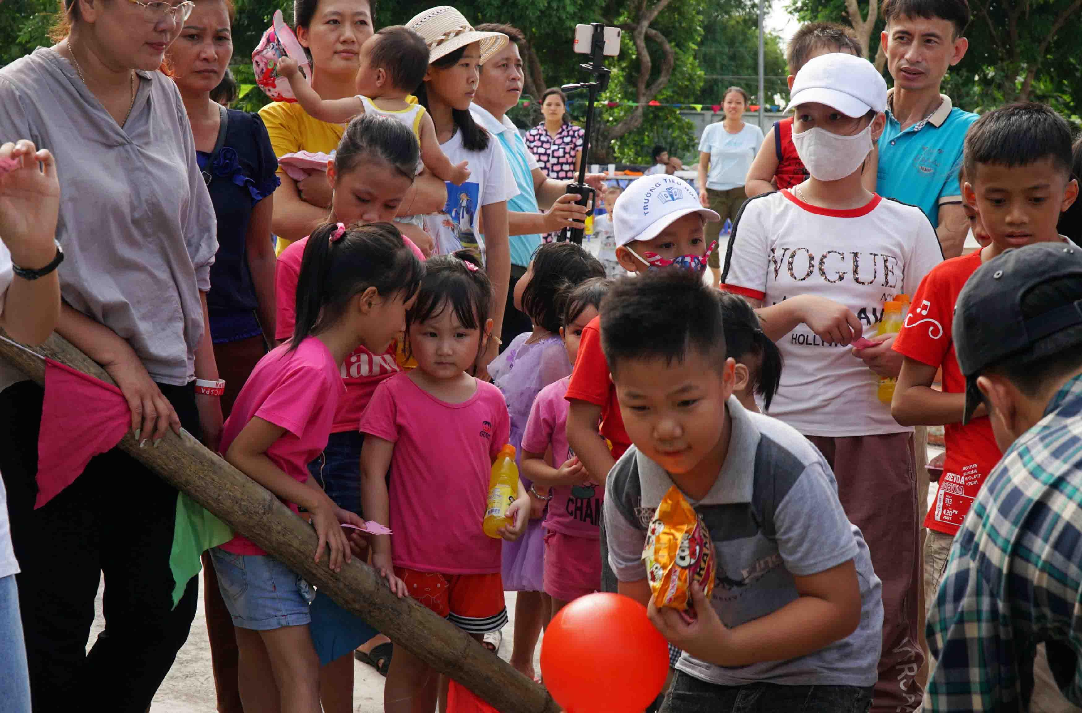 Caritas Thái Bình: Tết Trung Thu Cho Trẻ OVC Thái Bình