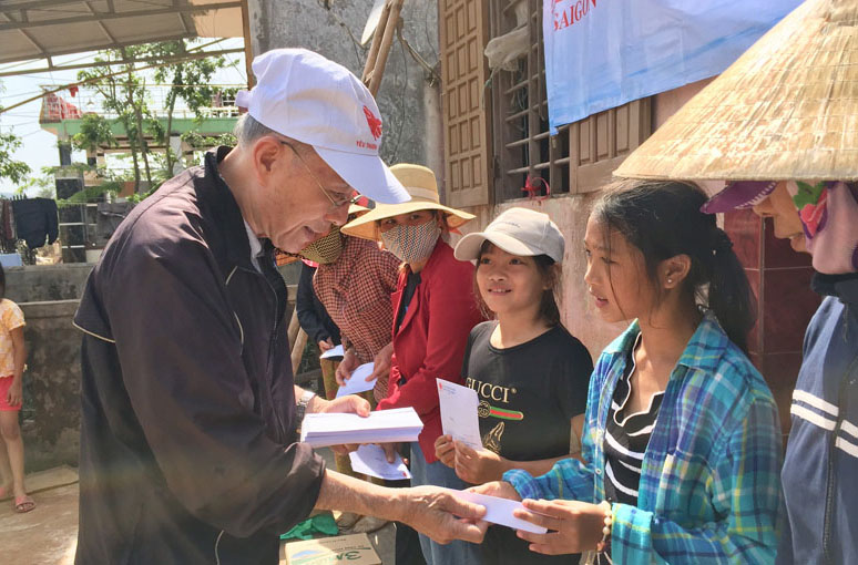 Caritas Sài Gòn: Hành trình thương về miền Trung