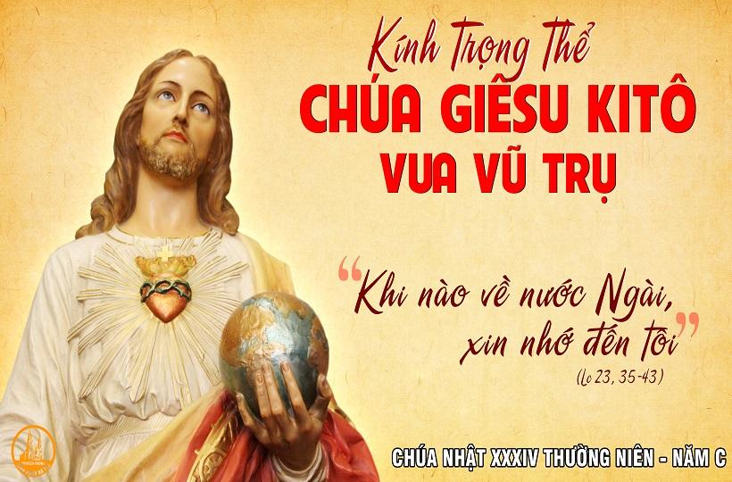 Chúa Nhật XXXIV Thường Niên - Năm A - Lễ Chúa Kitô Vua