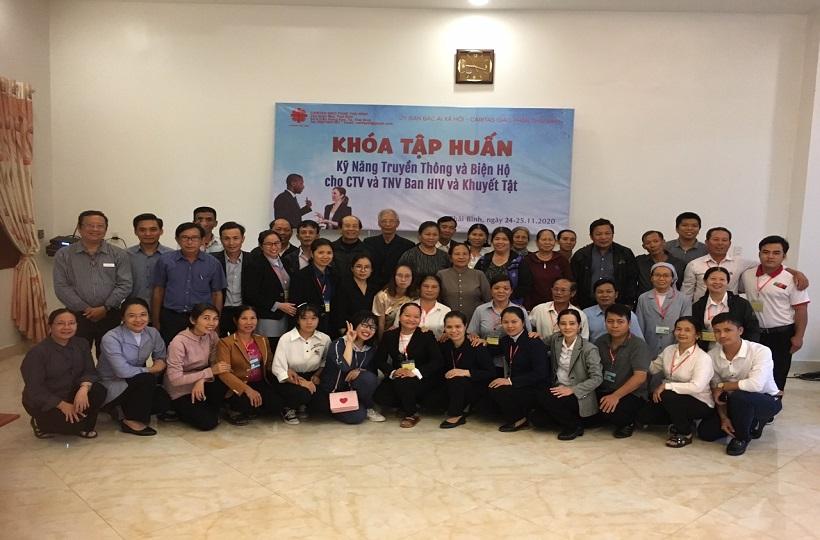 Caritas Thái Bình: Khóa Tập Huấn Kỹ Năng Truyền Thông và Biện Hộ