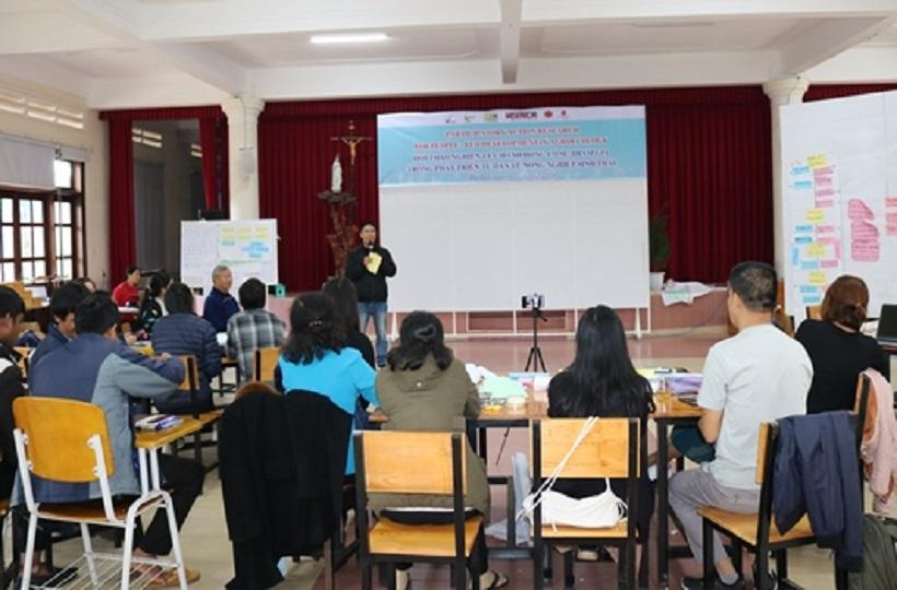 Caritas Đà Lạt: Hội thảo Nghiên Cứu Hành Động Có Sự Tham Gia Trong Phát Triển Tự Dân Về Nông Nghiệp Sinh Thái