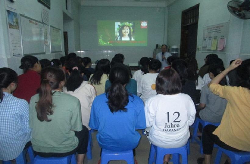 Caritas Huế: Sinh hoạt truyền thông giảm kỳ thị và phân biệt đối xử với người có H
