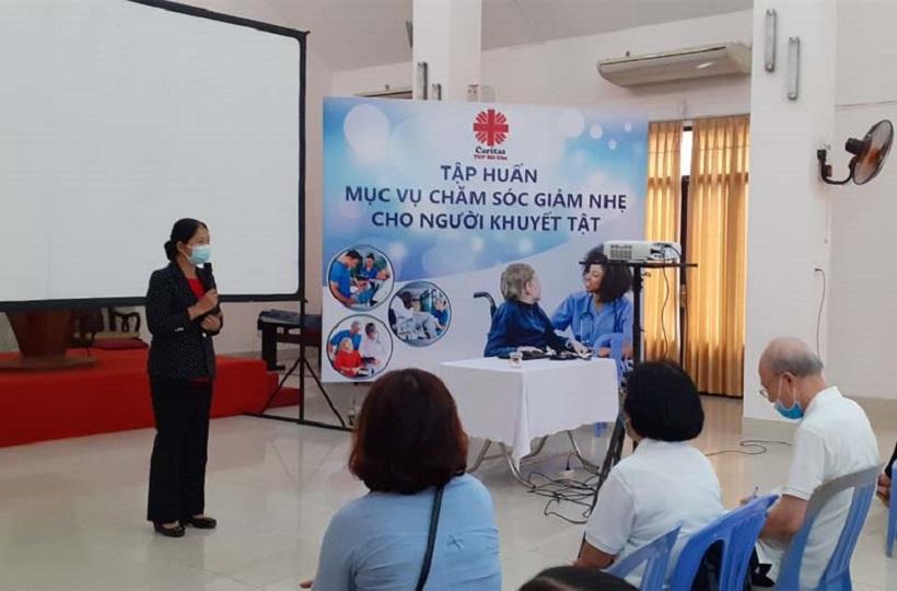 Caritas TGP Sài Gòn: Kết Thúc Khóa Tập Huấn Chăm Sóc Giảm Nhẹ