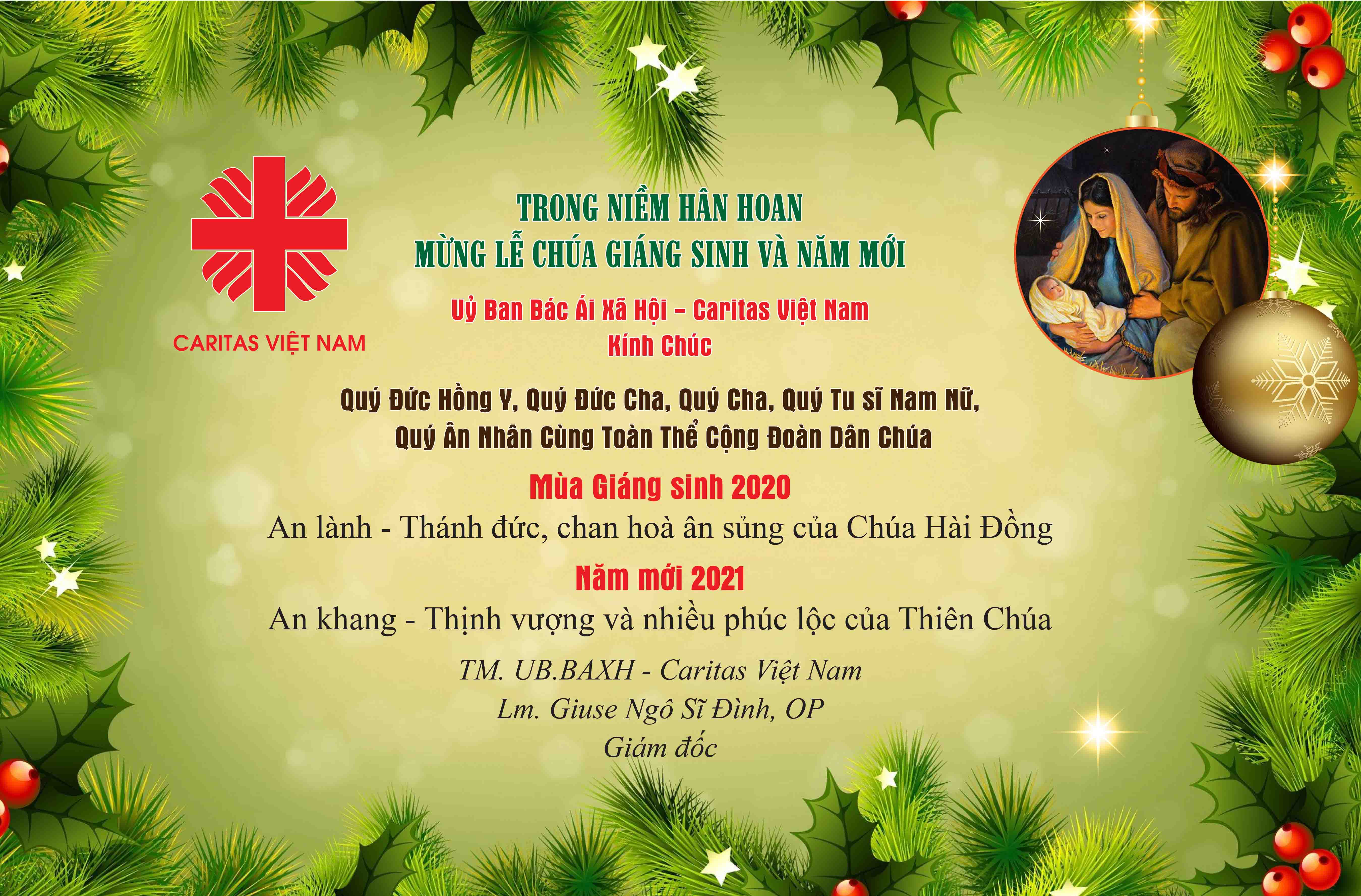 Merry Christmas from Caritas Vietnam