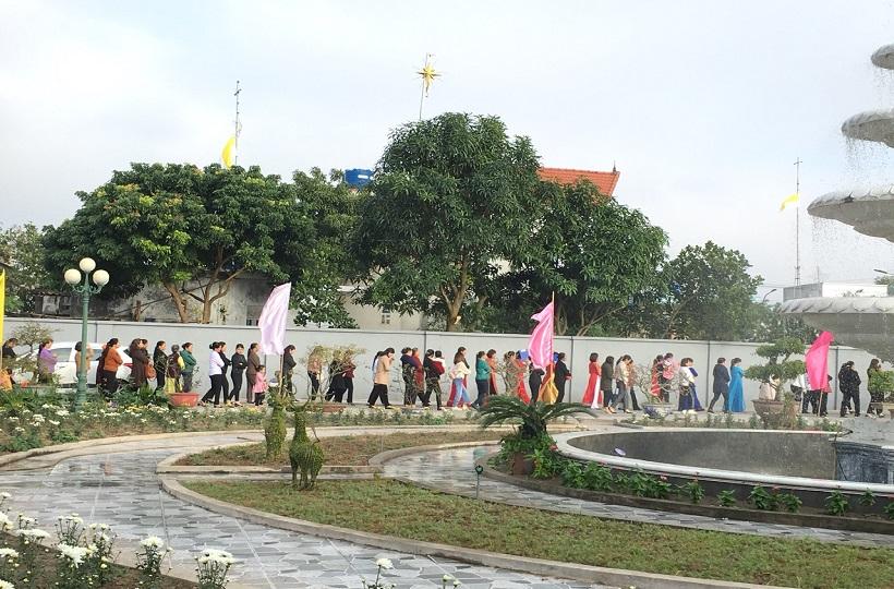 Caritas Thái Bình: Ban Bảo Vệ Sự Sống Mừng Lễ Bổn Mạng
