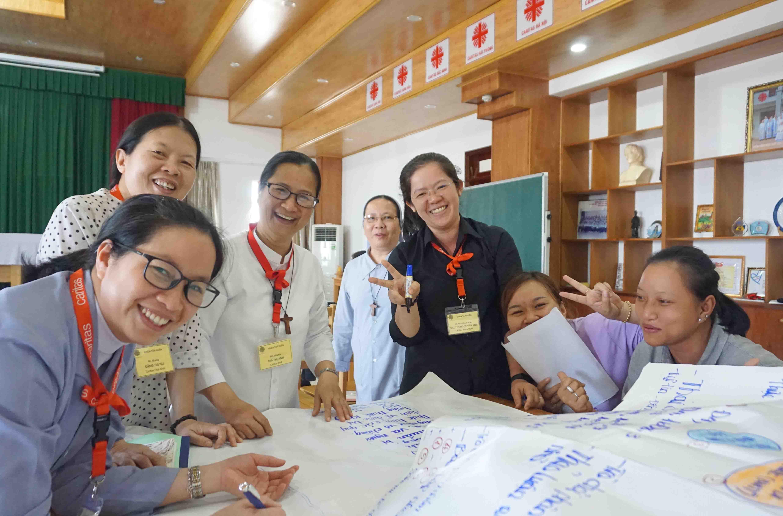 Caritas Việt Nam: Tổ Chức Khóa Đào Tạo Giảng Viên Nguồn Nâng Cao