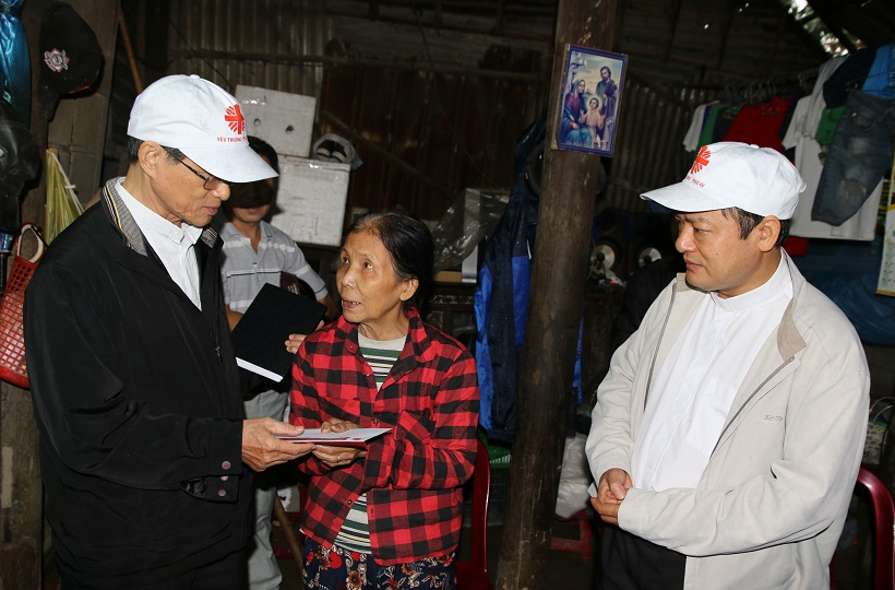 Caritas Vietnam: Human love amid the disasters of life