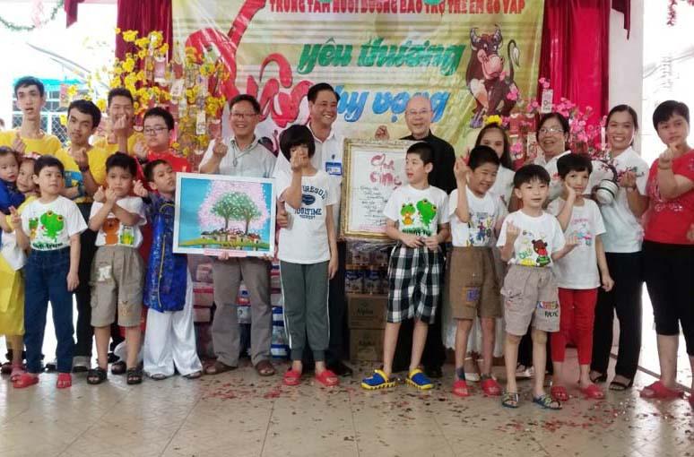 Caritas Sài Gòn: Xuân yêu thương – Xuân hy vọng  tại Trung Tâm Nuôi Dưỡng Bảo Trợ Trẻ Em Gò Vấp