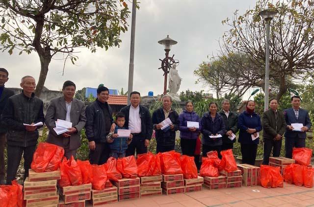 Caritas Bùi Chu: Thăm Và Tặng Quà Tết Cho Người Nghèo