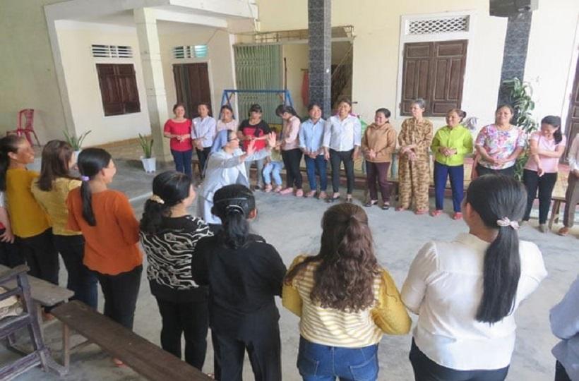 Caritas Huế: Sinh Hoạt Và Truyền Thông Cho Cộng Đồng Về  Kiến Thức HIV Tại Giáo Xứ Chánh Xuân