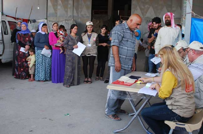 Caritas Helping People Cope With Displacement and Conflict in Iraq