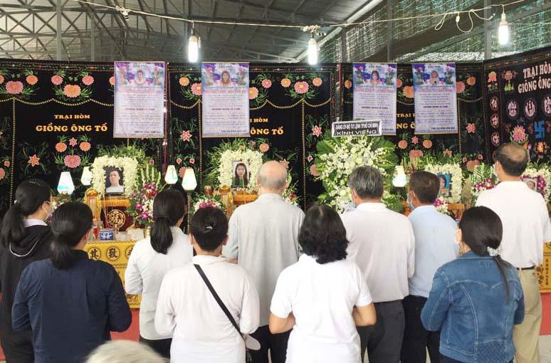 Caritas Sài Gòn: Viếng tang 6 nạn nhân thiệt mạng trong vụ cháy nhà