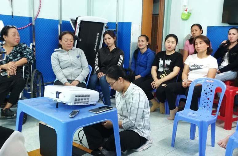 Caritas Sài Gòn: Mái Ấm Calcutta hội thảo chăm sóc sức khỏe và trợ giúp pháp lý cho trẻ khuyết tật