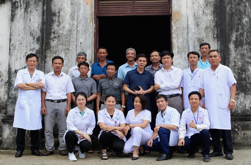 Carritas Hà Tĩnh: Thăm khám, tư vấn và cấp phát thuốc chữa bệnh cho người dân vùng giáo xứ Khe Ngang