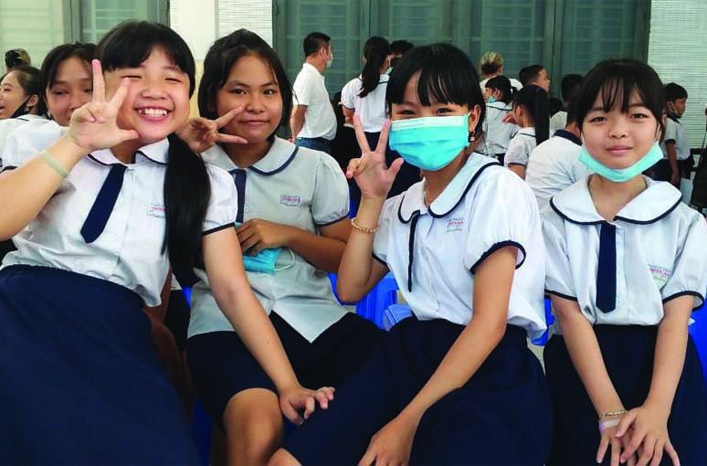 Caritas Sài Gòn: Khám bệnh cho các em lớp học tình thương Thiên Ân