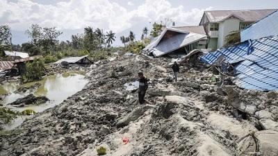 Giáo Hội Công Giáo Indonesia hướng tới các nạn nhân của trận động đất và sóng thần.