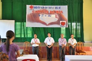 Lớp Tập Huấn Ban Điều Hành Caritas Xứ Của Caritas Giáo Phận Bà Rịa