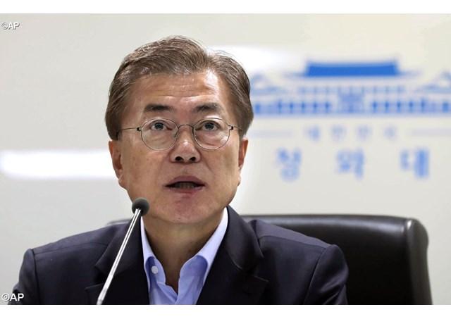 Tân tổng thống Hàn quốc mời linh mục làm phép dinh tổng thống