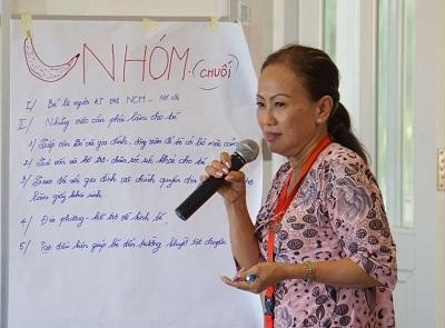 Caritas Việt Nam: Ban hỗ trợ Người khuyết tật và Ban hỗ trợ Người có H tổ chức tập huấn tại Nhà thờ Rạng - Giáo phận Phan Thiết (tt)