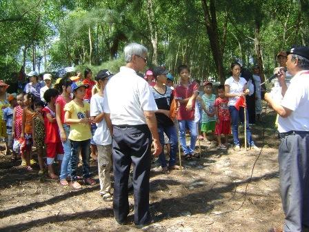 Trại hè cho trẻ nhiễm HIV  và trẻ OVC tại Huế