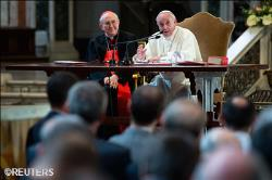 Francis Meets With Priests of Rome Reflections From His Conversation