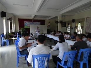 Nhật ký khoá truyền thông II do Caritas Việt Nam tổ chức