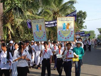 Nguy cơ bị lây nhiễm HIV ở trẻ vị thành niên ở Tiền Giang