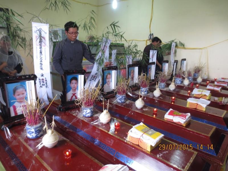 Caritas Hải Phòng cứu trợ các nạn nhân trong trận mưa lũ kỷ lục ở tỉnh Quảng Ninh