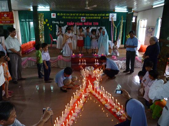 Ngày Hội cho người có HIV/AIDS
