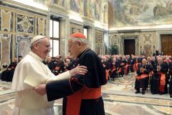 Đức Thánh Cha Phanxicô gặp gỡ Hồng y đoàn