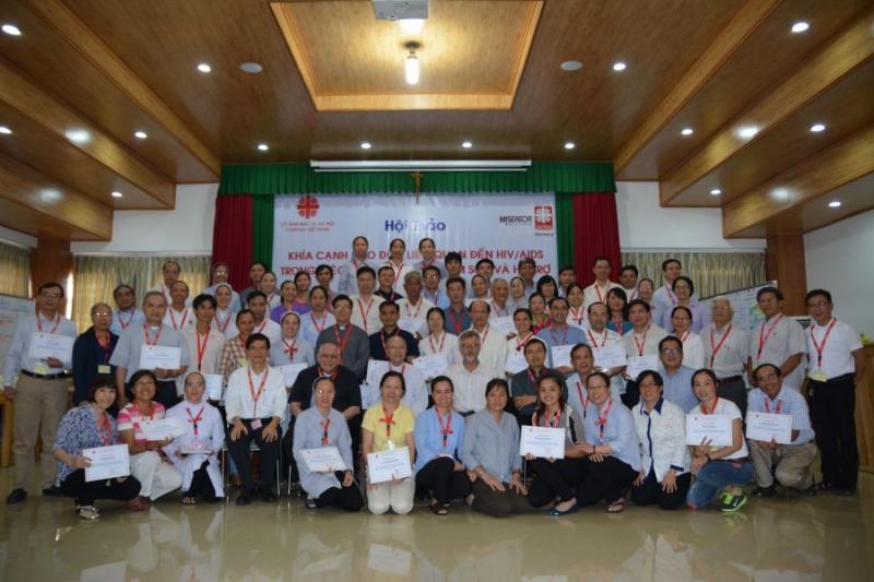 Caritas Việt Nam: Tường thuật ngày thứ hai - hội thảo về khía cạnh đạo đức liên quan đến HIV/AIDS trong việc phòng ngừa, chăm sóc, và hỗ trợ