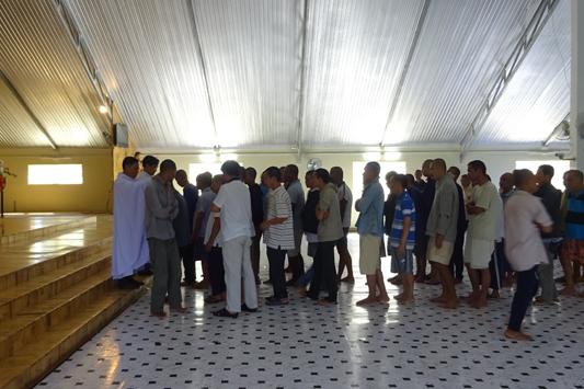 Thánh Lễ Tất Niên tại cơ sở tình thương Trọng Đức