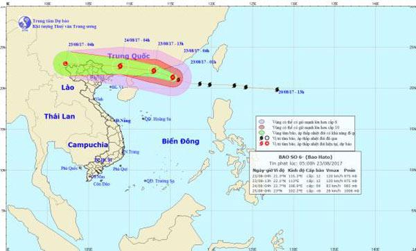 Bão số 6 tiếp tục mạnh lên, Hà Nội mưa như trút từ đêm nay