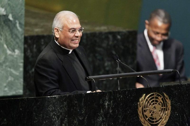 Đức Tổng Giám mục Chullikatt phát biểu tại Liên hiệp quốc