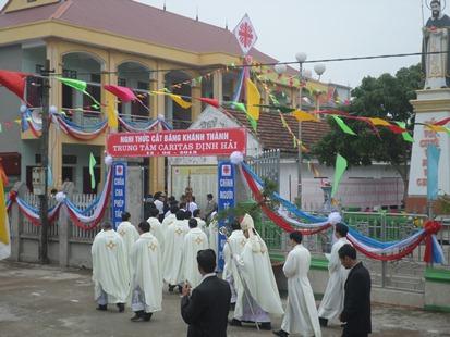 Thánh Lễ Tạ Ơn và Khánh Thành Trung Tâm Caritas Định Hải