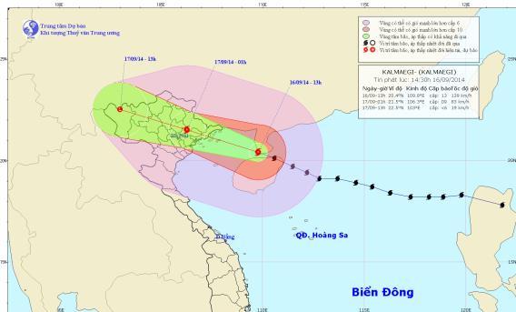 Tin bão khẩn cấp (cơn bão số 3)
