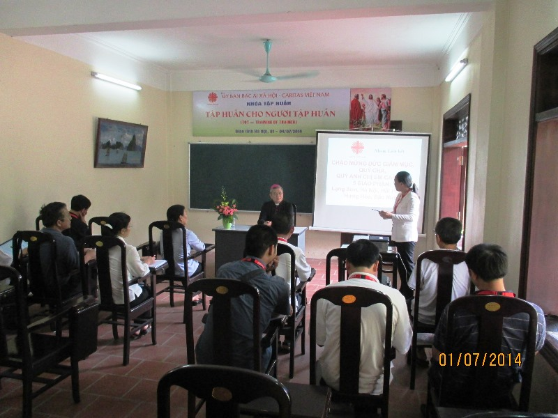 Caritas Việt Nam: Khai giảng khóa ToT tại Tòa Giám mục Lạng Sơn