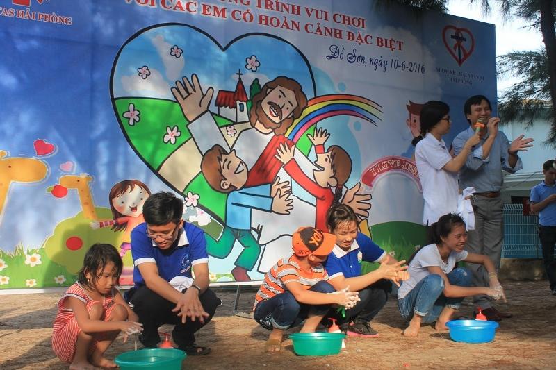 Caritas Hải Phòng: Một ngày vui chơi đáng nhớ dành cho các trẻ em có hoàn cảnh đặc biệt