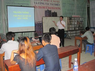 Truyền Thông Kiếm Thức Cơ Bản Về HIV Cho Lớp Giáo Lý Hôn Nhân Tại Giáo Xứ Hải Dương