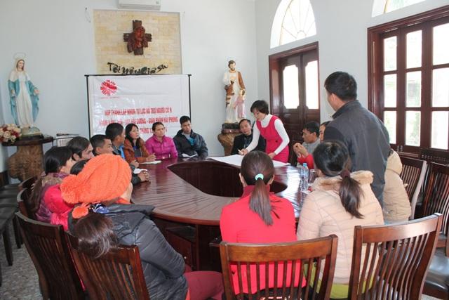 """Caritas Hải Phòng thành lập nhóm Tự lực """"Nắng Mới"""" tại Hải Dương"""