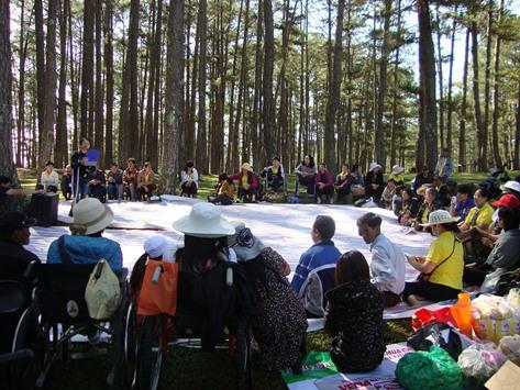 Hội trại kỷ niệm ngày Người khuyết tật Việt Nam