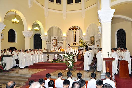Khóa Bồi dưỡng các nhà đào tạo linh mục năm 2014