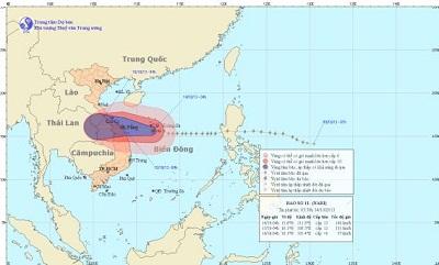 Tin bão khẩn cấp (Cơn bão số 11)