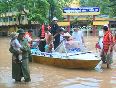 Cách bảo quản tài sản nơi lũ lụt