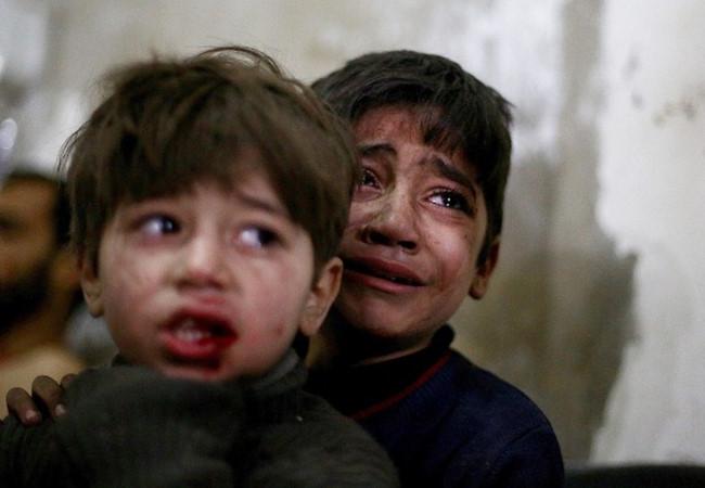 Trẻ em chịu chấn thương tâm thần trầm trọng vì hậu quả của chiến tranh