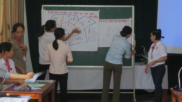 Tập huấn cho ban Hỗ trợ người Khuyết tật của Caritas-Giáo tỉnh Hà Nội