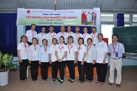 Caritas Việt Nam khai mạc khoá tập huấn TOT của Giáo tỉnh Huế
