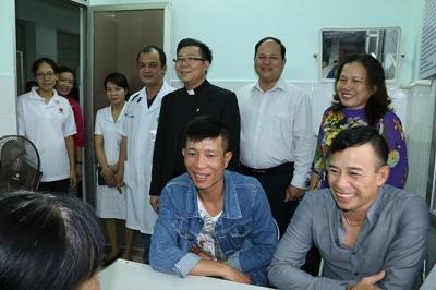 Caritas Hải Phòng hỗ trợ duy trì Phòng tư vấn cho người có HIV tại khoa Bệnh nhiệt đới - Bệnh viện Việt Tiệp, Hải Phòng